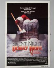 """""""Silent Night Deadly Night"""" 1 sheet poster"""