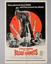 """""""Invasion of the Blood Farmers"""" 1 sheet poster,"""