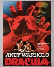 """Andy Warhols Dracula"""" 1 sheet poster"""