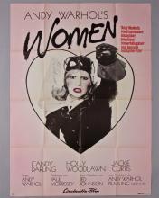 """Andy Warhol's Women"" 1 sheet poster"