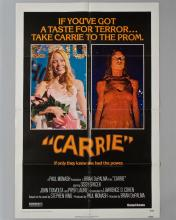 """""""Carrie"""" 1 sheet poster"""