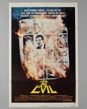 """Fear No Evil"" 1 sheet poster,"