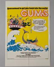 """""""GUMS"""" 1 sheet poster,"""