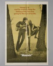 """""""HOMER"""" 1 sheet poster"""
