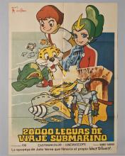 "Disney""20,000 Leguas De Viaje Submarino"" 1 sheet poster"