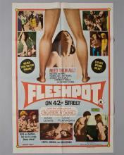 """""""Fleshpot on 42nd Street"""" 1 sheet poster,"""