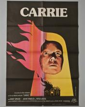 """""""CARRIE"""" 1 sheet poster in Spanish"""