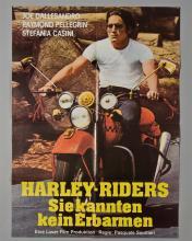 """""""Harley Riders"""" 1 sheet poster in German,"""