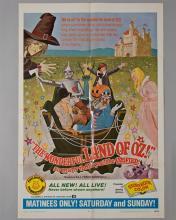 """""""Wonderful Land of Oz"""" movie 1 sheet poster"""