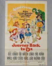 """Journey Back to Oz"" 1 sheet poster"