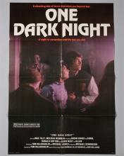 """One Dark Night"" 1 sheet poster,"