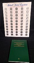 Coins. Set of Commemerative United States, State Quarters,Display, & Coin book.
