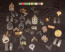 Vintage Military pins and insignias lot.