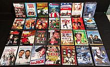 GROUP OF 28 DVD MOVIES LOT.