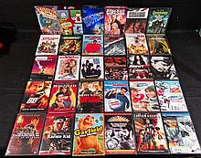 30 DVD MOVIES LOT.  SEE PHOTOS FOR WHAT FILMS ARE IN THIS GROUPING.