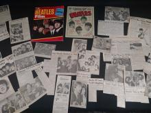 The Beatles.  1964 Film Magazine, A Hard Day's Night 15 c Magazine, & many 1964 news clips.