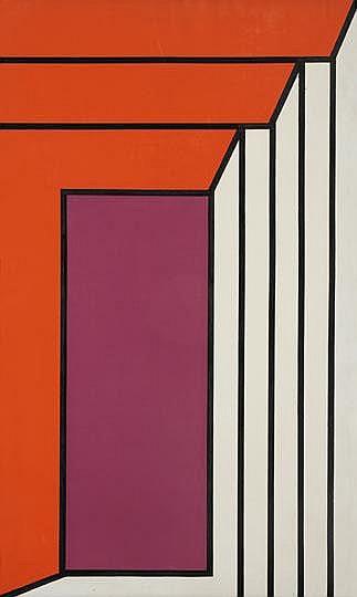 Bak Imre (1939- ) Red-lila, 1970