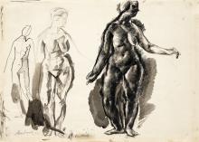 Aba-Novák Vilmos (1894-1941): Nudes, 1923