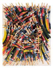 Arman Fernandez (1928-2005): Underlined, 1996