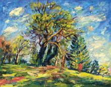Basch Andor (1885-1944): Grove, 1939
