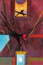 Kolozsváry Zsigmond (1899-1983): Untitled, 1969