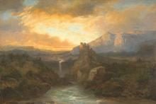 Telepy Károly (1828-1906): Ruins of a Castle, 1899