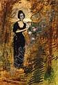 Gulacsy Lajos (1882-1932) No a rozsafanal, Lajos Gulacsy, Click for value