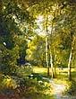 Brodszky Sandor (1819-1901) Majusi erdo, Sandor Brodszky, Click for value