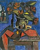 Szabo Zoltan (1929- )  Csendelet kancsoval, 1973