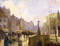 Zorad Geza (1896-1959) Flamand kisvaros