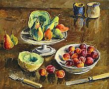 Basch Andor (1885-1944), Fruits, 1942