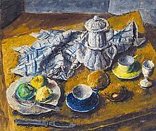 Basch Andor (1885-1944) Still-life with coffee-pot, 1941