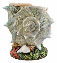 Zsolnay: Seashell shaped plant-holder, 1899-1900