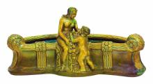 Zsolnay: Art-deco table-center, 1900