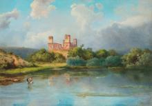 Telepy Károly: Castle in Diósgyőr, 1901