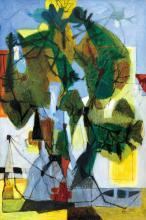 Kolozsváry Zsigmond (1899-1983): In the Park, 1951