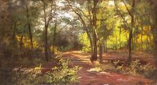 Deep in the forest, 1891