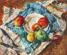 Basch Andor (1885-1944): Apples and Red wine, 1939