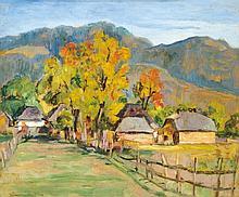 Körmendi Frimm Ervin (1885-1939), Landscape at Autumn