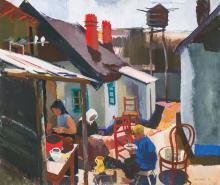 Aba-Novák Vilmos (1894-1941): Farmhouse, 1934