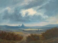 Telepy Károly (1828-1906): Valley, 1889