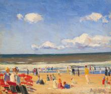 Basch Andor (1885-1944): Coast of Viareggio, 1923
