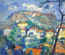 Basch Andor (1885-1944): View of Provence