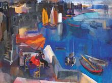 Aba-Novák Vilmos (1894-1941): Harbour, 1930