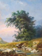 Telepy Károly (1828-1906): End of the Forest