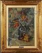 NIVOULIES MARIE - Francia, 1879-1968. Dipinto olio, Marie Anne Alphonsine Nivoulies