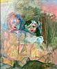 Toegeschreven aan Hippolyte Daeye (1873-1952) Two dolls. Signed l, Hippolyte Daeye, €0