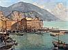 D.J. Hazelzet (1889-1953) The harbour of Camogli. Signed lower ri, Dirk-Jan Hazelzet, €0