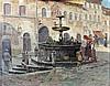 D.J. Hazelzet (1889-1953) Filling the jugs at the fountain. Signe, Dirk-Jan Hazelzet, €0