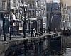 Gerke Henkes (1844-1927) A window cleaner at the Delftse Vaart wi, Gerke Henkes, €0